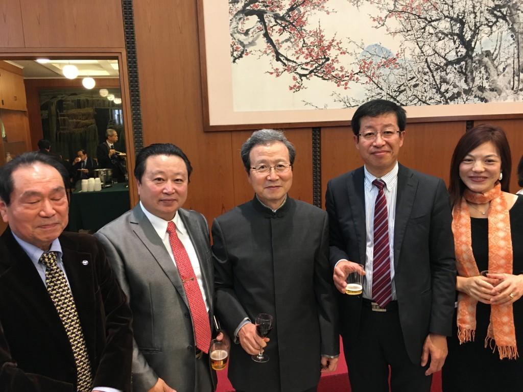 中国大使館の2016年華僑華人新春招待会1