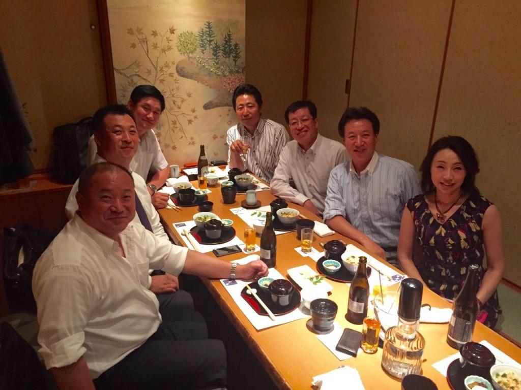 日本黒竜江総商会の設立準備会議2