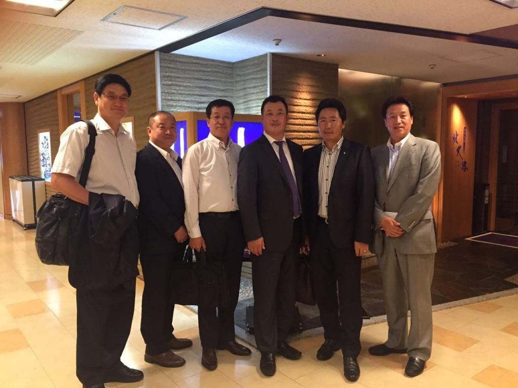 日本黒竜江総商会の設立準備会議1