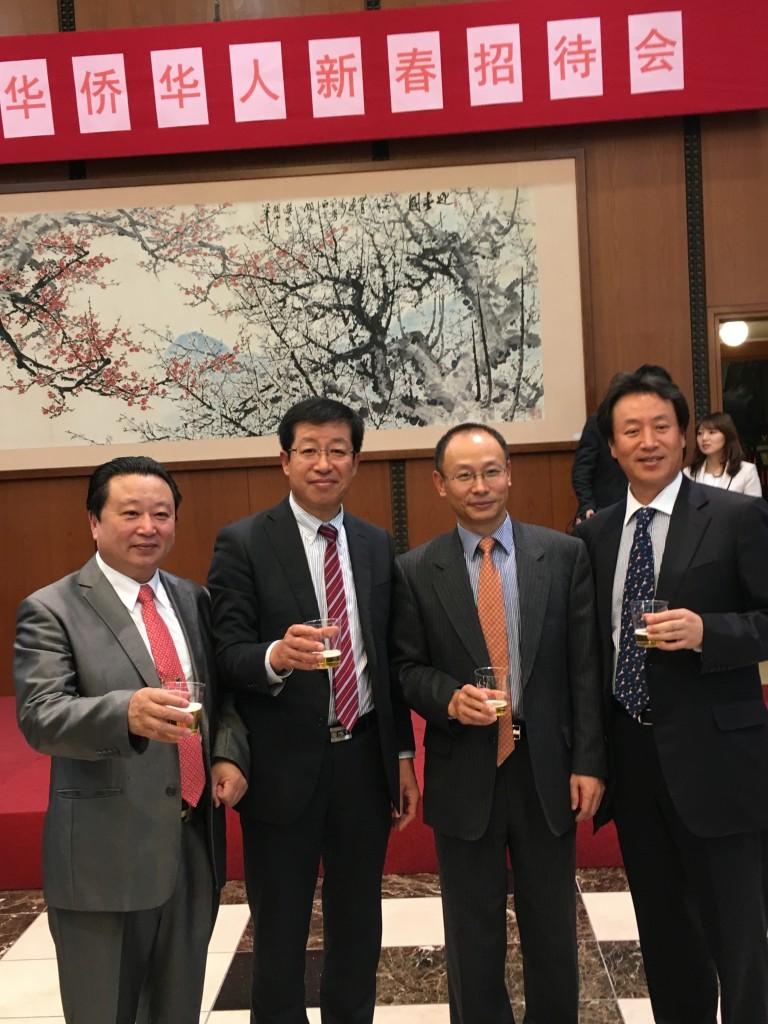 中国大使館の2016年華僑華人新春招待会3